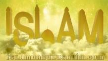 İslam!